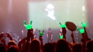 B.A.P - Song Young, Wild & Free + Talking in Italian - Milan Awake!! 2016