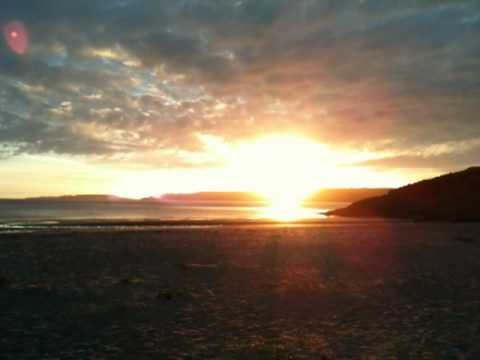 Gairloch beach sunset 2
