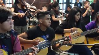"""Baila Caporal"" de Illapu por Orquesta del Campito Comunitario"