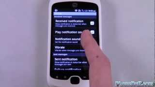 How To Set Text Message Notification Sound/Ringtone (for Android)