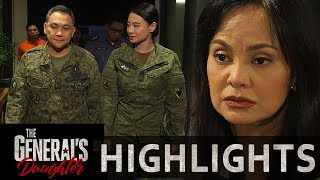 Corazon  covers up Marcial and Rhian to the militar   The General's Daughter