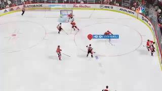 shavery's Live PS4 Broadcast of NHL 19 rookies vs blackhawks