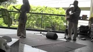Hawaiian Music at Airport