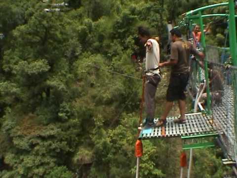Bungee Jump, Jump 1, Last Resort, Nepal.