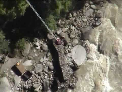 Bungee Jump Nepal (160 m / 525 ft) – Bhote Kosi River Gorge
