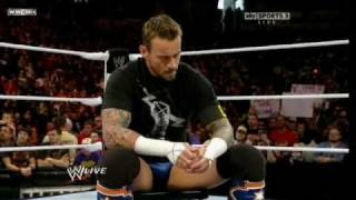 WWE Monday Night Raw 12-27-10. CM Punk Joins The Nexus HD