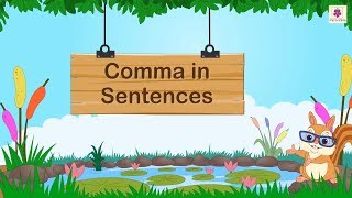 How To Use Comma In Sentences? | English Grammar For Kids | Periwinkle