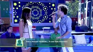 Sam Alves e Marcela Bueno no Encontro    A Thousand Years HD