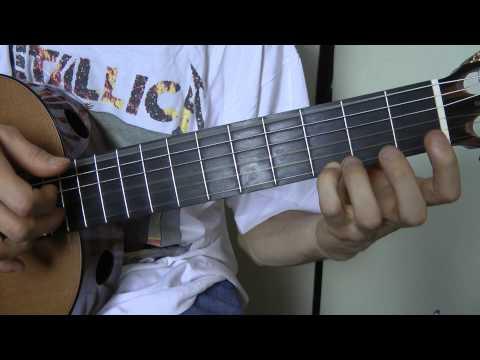 Comment jouer La Madrague de Brigitte Bardot à la guitare partie 2