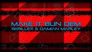 Skrillex & Demian Marley Make it bun dem (No name rmx)