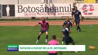 PATACHE A PLECAT DE LA FC BOTOSANI