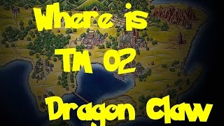 Where Is: TM 02 - Dragon Claw (Pokemon Fire Red/Leaf Green)