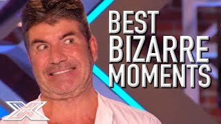 BRILLIANTLY BIZARRE Auditions on X Factor UK! | X Factor Global