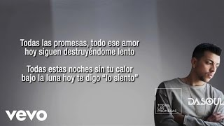 Dasoul - Todas Las Promesas (Lyric Video)