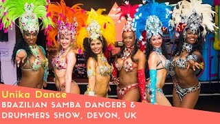Brazilian Samba Dancers & Drummers For Hire in London & UK