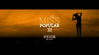 Live Streaming | Miss Popular 2018: Next Top Model - Live Audition (Part 3) width=