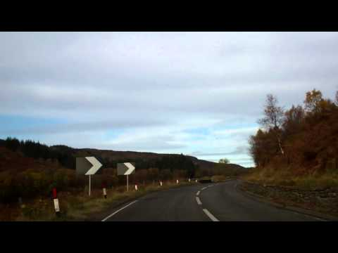 Autumn Morning Drive Lochearnhead To Glen Ogle Scotland October 27th