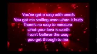 Shania Twain - You've Got A Way (Lyrics)