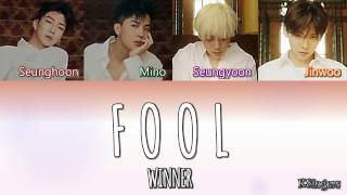 WINNER - Fool   Sub (Han - Rom - Español) Color Coded Letra