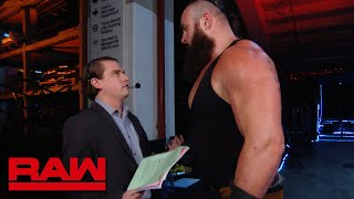 Braun Strowman hunts for Baron Corbin: Raw, Nov. 5, 2018