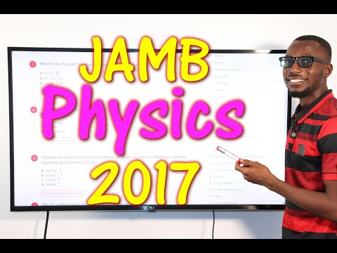 JAMB CBT Physics 2017 Past Questions 1 - 15