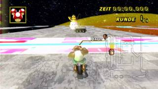 [MKWii] TAS - Nightmare - first lap - 1:07.689 - w/o Glitch - Live Replay