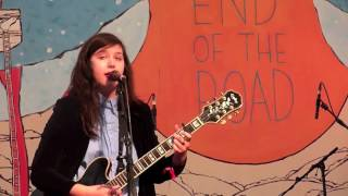 Lucy Dacus Live at the End of the Road Festival 2016