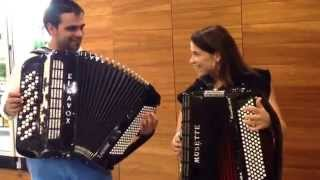 Rita Melo e Ricardo Laginha - Valsa de Vale das Éguas (acústico)