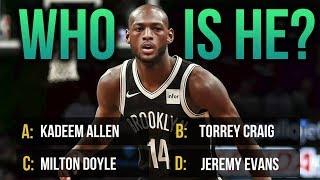 Name All These NBA Players (Hard Edition)! NBA Trivia Ep.1