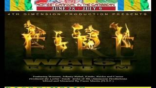 BOMANI FT JOHNNY REBEL - FIRE WAIST - FIRE WAIST RIDDIM - VINCY SOCA 2013