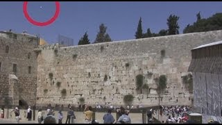 UFO Sighting at Daytime in Jerusalem, Israel - FindingUFO