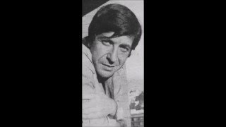 Leonard Cohen recites his poem The Dream