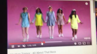 Caramelldansen English version by Caramella Girls feat Meghan trainor