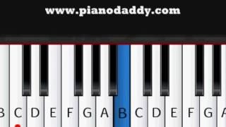 Hero (Enrique iglasias ) piano tutorial