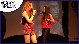 I NEED A DOLLAR/BUZZIN - ALOE BLACC/50 CENT performed by BORN2BLUSH at Open Mic UK