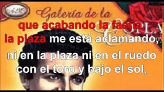 toros y coplas karaoke Antonio Molina