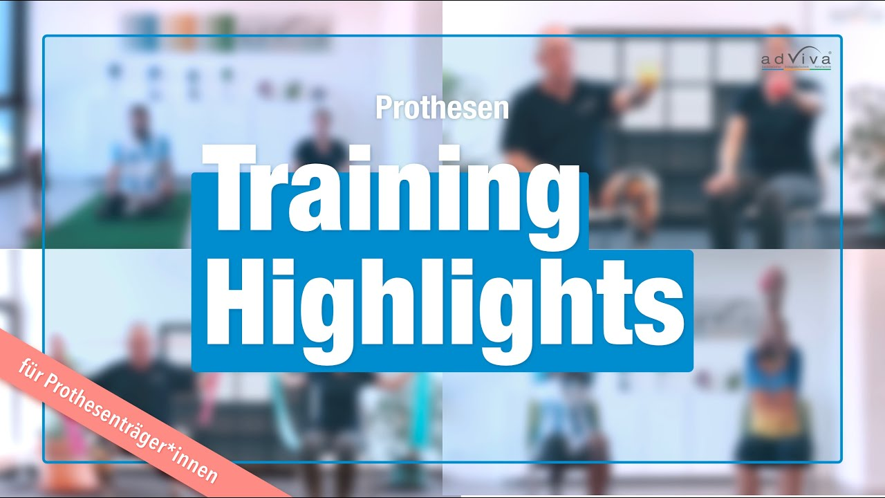 Workout für Prothesenträger*innen - Highlights