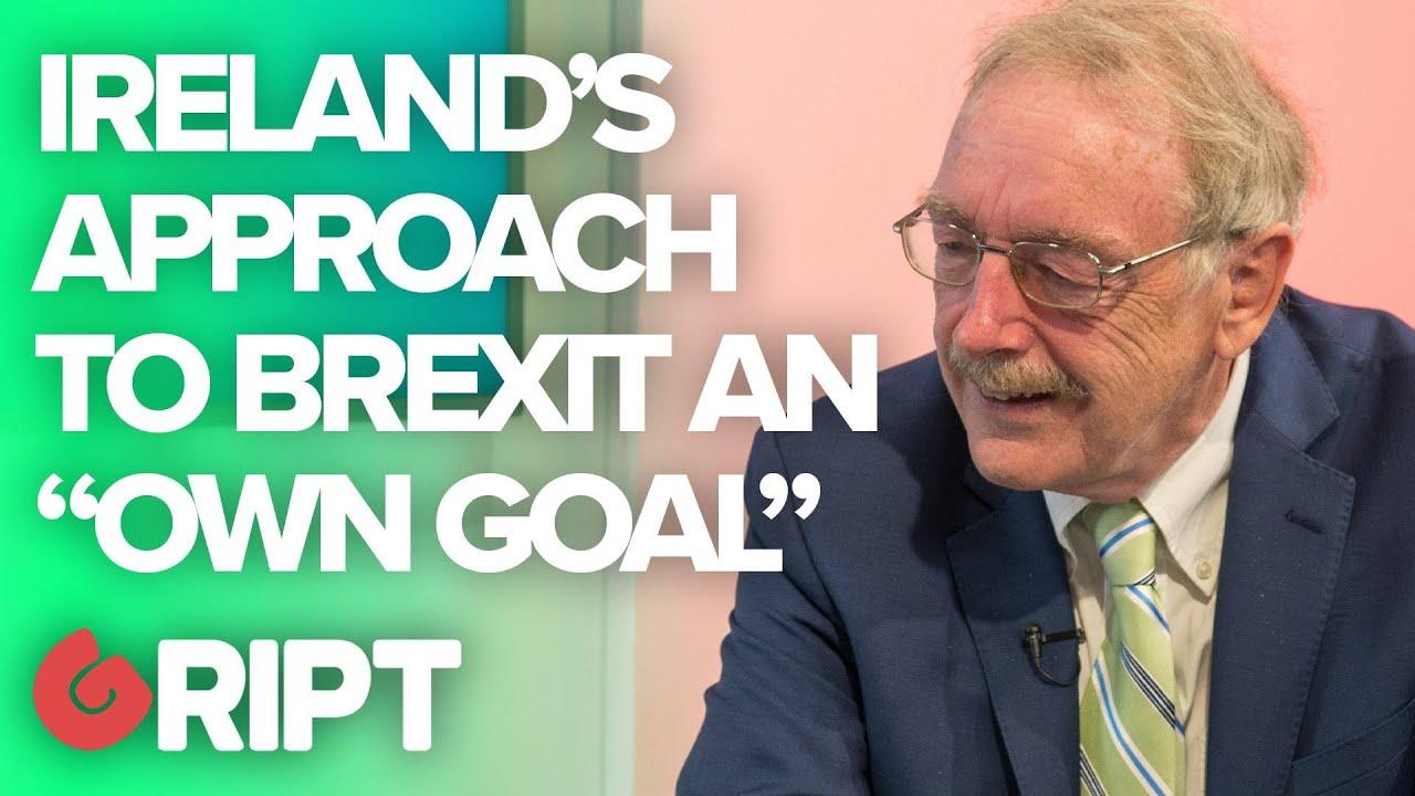 """Ireland's Brexit Handling an """"Own Goal"""": Ex-Diplomat"""