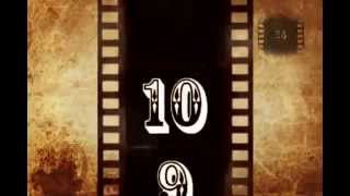 Video Countdown 24 Old Film  10 seconds