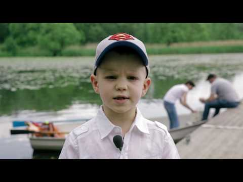 Дети о безопасность в лодке