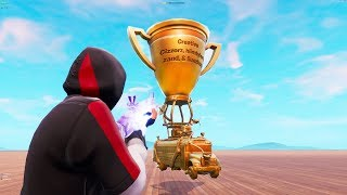 How To Get Fortnite World Cup Trophy In Creative Videos