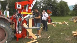 Lancman ST 21 C Holzspalter mit Seilwinde und Stammheber