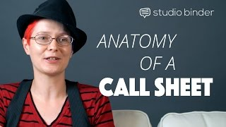 The Anatomy Of A Call Sheet