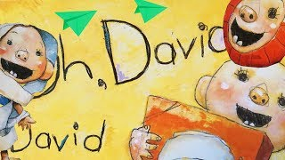 [Animated Effects] Oh, Oh David Children's Read Aloud by David Shannon kids baby