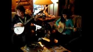 Live from the Sofa -  Banjo Clawhammer Quartet - Gail, April, Hayes and Cody