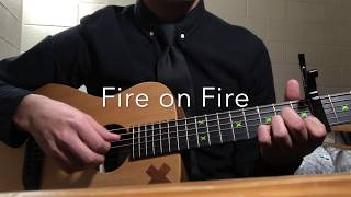 Fire on Fire- Sam Smith guitar fingerstyle by Matthew Herrador