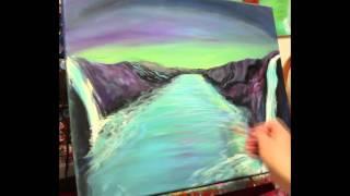 Azul Painting