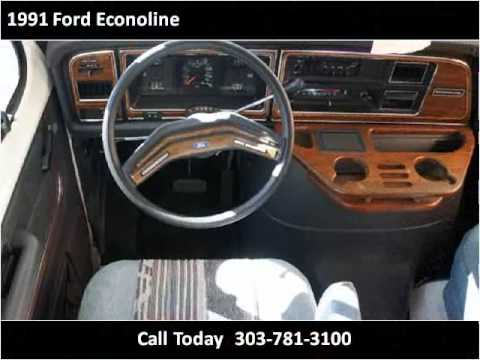 Gillie Hyde Glasgow Ky >> 1991 Ford Econoline Problems, Online Manuals and Repair ...