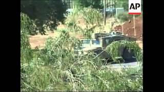 Fighting at border, Israeli air raids in  Lebanon, Olmert, Hezbollah