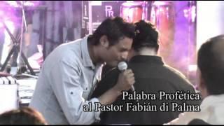 Profecia de Marcos Brunet al Pastor Fabián di Palma width=
